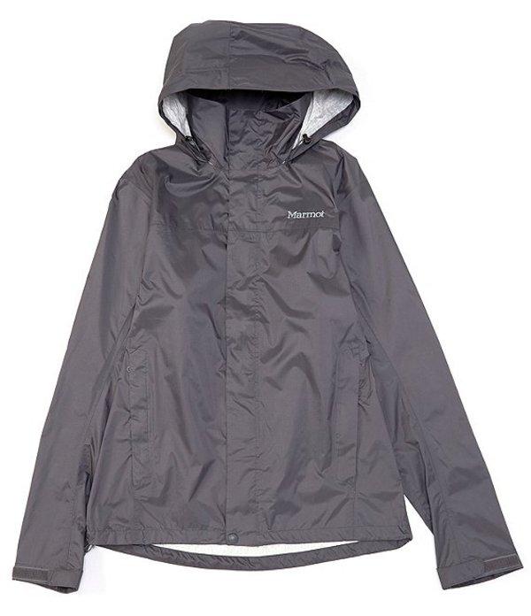 マーモット メンズ ジャケット・ブルゾン アウター Precip Full-Zip Waterproof Eco Jacket Slate Grey