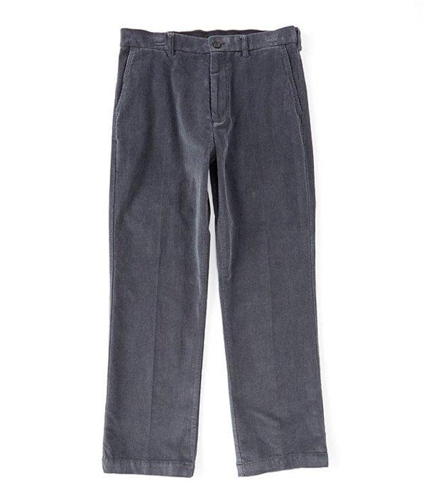 ラウンドトゥリーアンドヨーク メンズ カジュアルパンツ ボトムス Flat Front Corduroy Pants Blue Smoke
