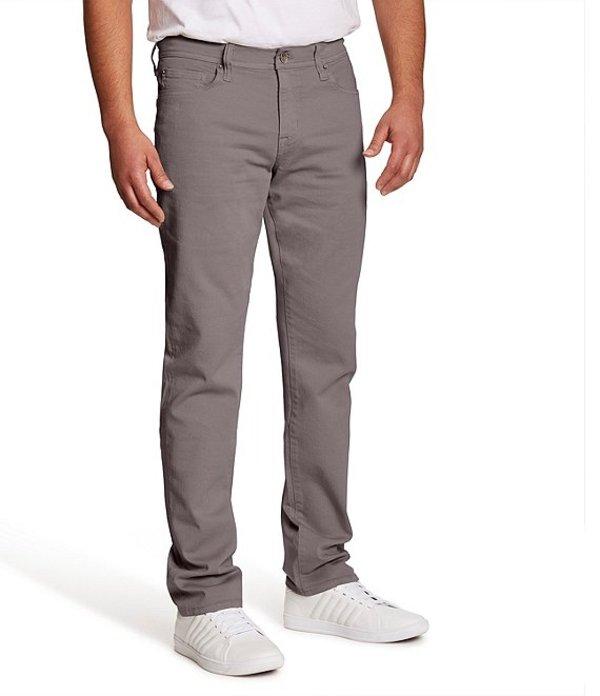 ウィリアム ラスト メンズ デニムパンツ ボトムス Dean Driftwood Slim-Fit Straight-Leg Stretch Jeans Driftwood