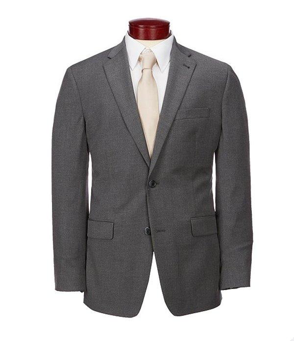 ムラノ メンズ ジャケット・ブルゾン アウター Big & Tall Wardrobe Essentials Classic-Fit Suit Separates Twill Blazer Charcoal