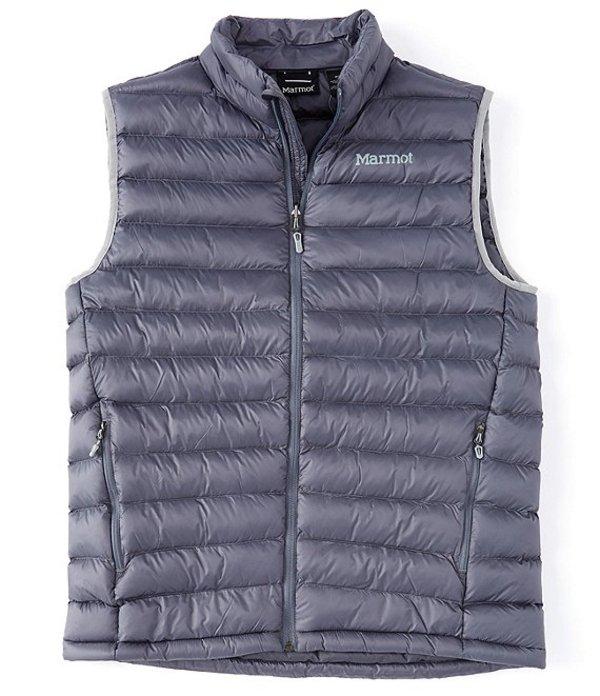 送料無料 サイズ交換無料 マーモット メンズ アウター ベスト Steel Onyx マーモット メンズ ベスト アウター Insulated Solus Puff Vest Steel Onyx