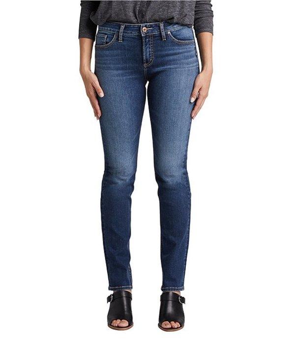 シルバー ジーンズ レディース デニムパンツ ボトムス Avery High Rise Straight Jeans Indigo
