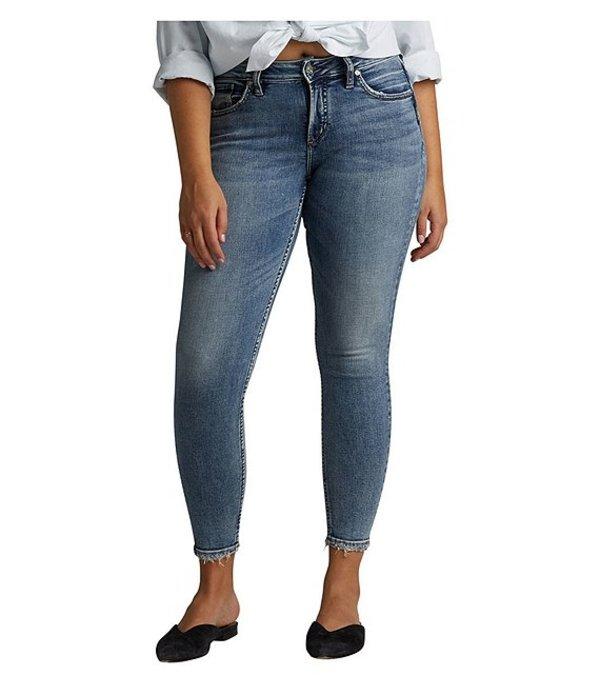 シルバー ジーンズ レディース デニムパンツ ボトムス Avery High Rise Power Stretch Skinny Jeans Blue