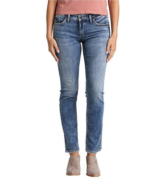 シルバー ジーンズ レディース デニムパンツ ボトムス Suki Straight Jeans Indigo
