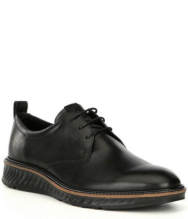 エコー メンズ ドレスシューズ シューズ Men's ST1 Hybrid Plain Toe Oxford Black