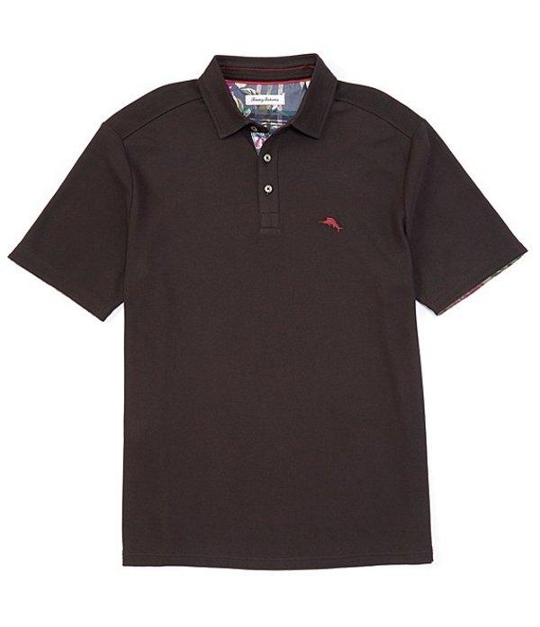 トッミーバハマ メンズ シャツ トップス IslandZone Limited Edition 5 O'Clock Short-Sleeve Polo Shirt Black