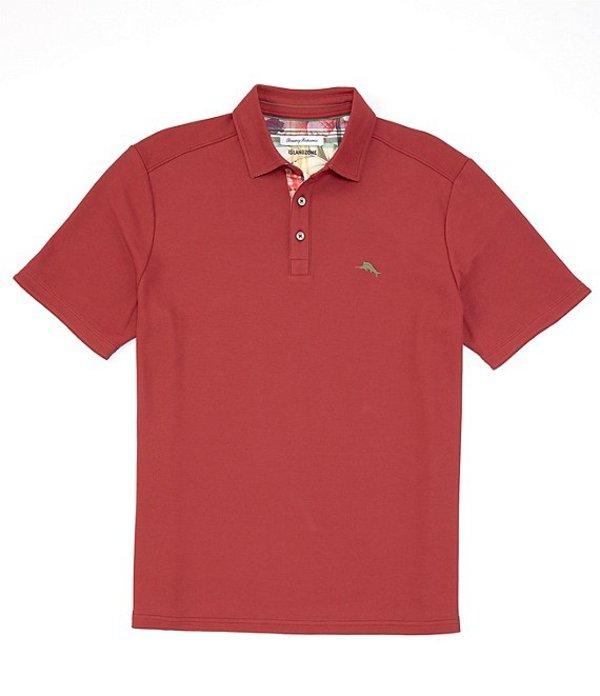 トッミーバハマ メンズ シャツ トップス IslandZone Limited Edition 5 O'Clock Short-Sleeve Polo Shirt Cranapple