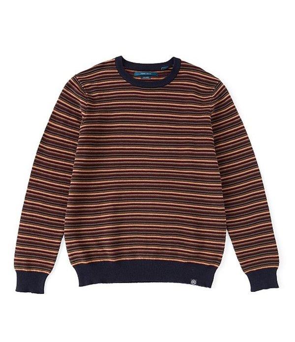 ペリーエリス メンズ パーカー・スウェット アウター Ottoman Stripe Sweater Wren