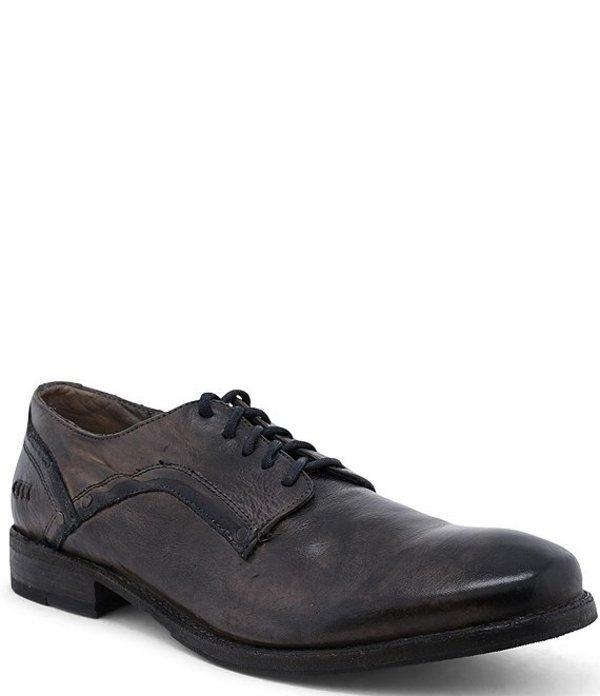 ベッドステュ メンズ ドレスシューズ シューズ Men's Larino Leather Oxford Graphito Dip Dye