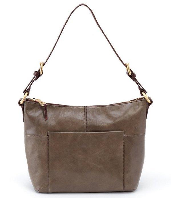 ホボ レディース ショルダーバッグ バッグ Charlie Leather Hobo Bag Shadow