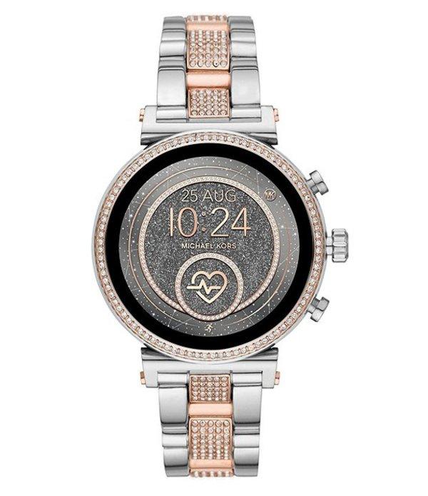 マイケルコース レディース 腕時計 アクセサリー Access Sofie Heart Rate Touchscreen Smartwatch Two-Tone
