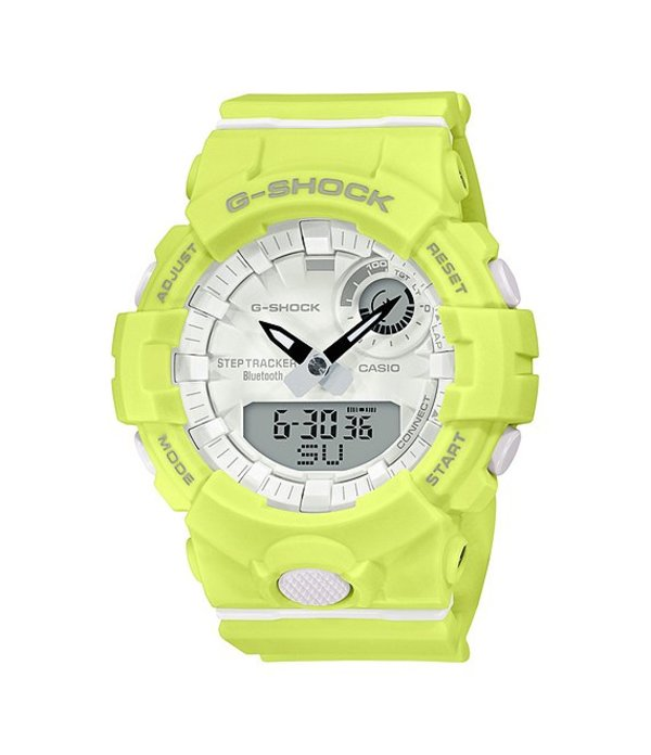 ジーショック メンズ 腕時計 アクセサリー G-shock Neon Yellow Green Analog-Digital Shock Resistant Watch Yellow