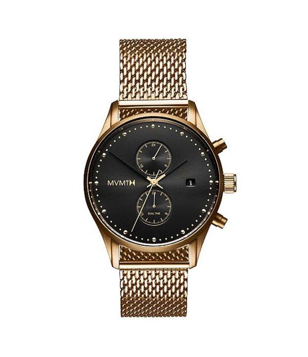 エムブイエムティー メンズ 腕時計 アクセサリー Men's Eclipse Goldtone Multifunction Stainless Steel Bracelet Watch Gold