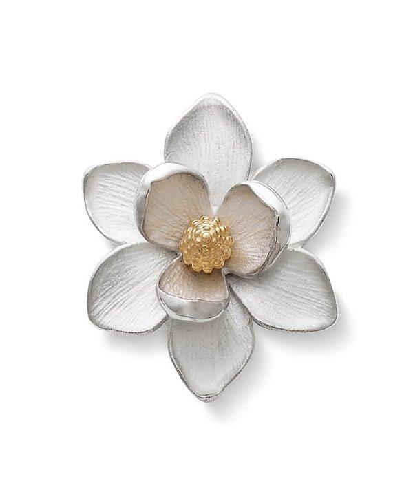 ジェームズ エイヴリー レディース ネックレス・チョーカー アクセサリー Magnolia Blossom Sterling Silver Pendant Sterling Silver/Gold