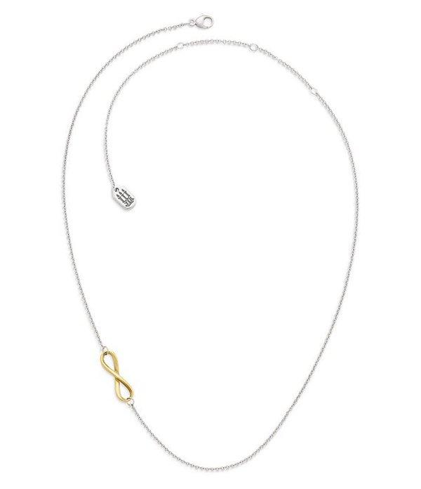 ジェームズ エイヴリー レディース ネックレス・チョーカー アクセサリー Petite Infinity Combo Necklace Sterling 14k Gold