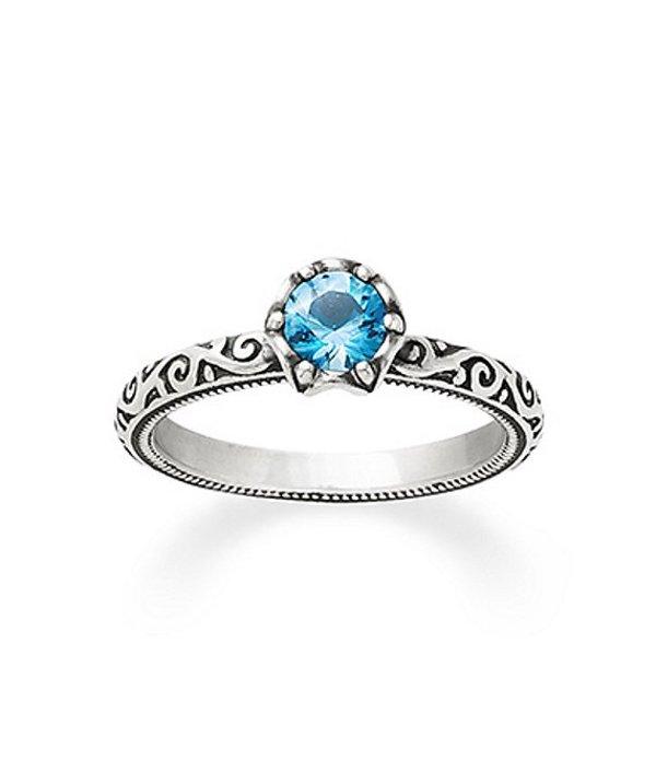 ジェームズ エイヴリー レディース 指輪 アクセサリー Cherished Birthstone Ring with Blue Topaz Sterling Topaz