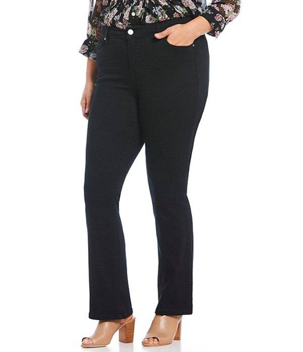 コード ブルー レディース デニムパンツ ボトムス Plus Size Chelsea Bootcut Jeans Black