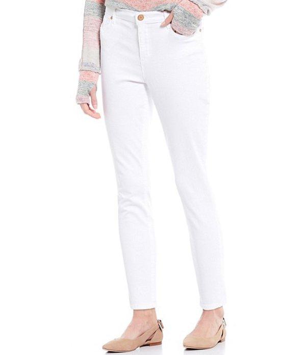 コード ブルー レディース デニムパンツ ボトムス High-Rise Skinny Ankle Jeans Bright White
