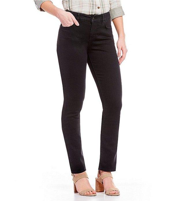 コード ブルー レディース デニムパンツ ボトムス Petite Size Chelsea Slimming Straight Leg Jeans Black Rinse