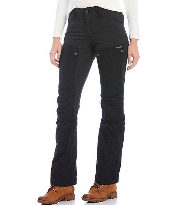 フェールラーベン レディース カジュアルパンツ ボトムス Keb Curved Fit Cargo Trousers Black
