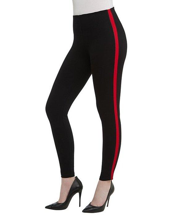 ピーター ナイガード レディース カジュアルパンツ ボトムス SLIMS Luxe Ponte Red Stripe Tuxedo Legging Black/Red