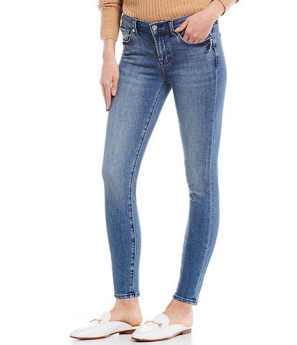 セブンフォーオールマンカインド レディース デニムパンツ ボトムス Mid Rise Ankle Skinny Jeans Authentic Destiny