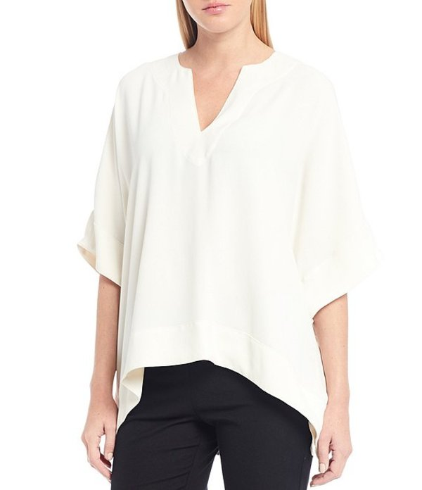 トリーナターク レディース シャツ トップス Woven Chiyo Short Sleeve Top Winter White
