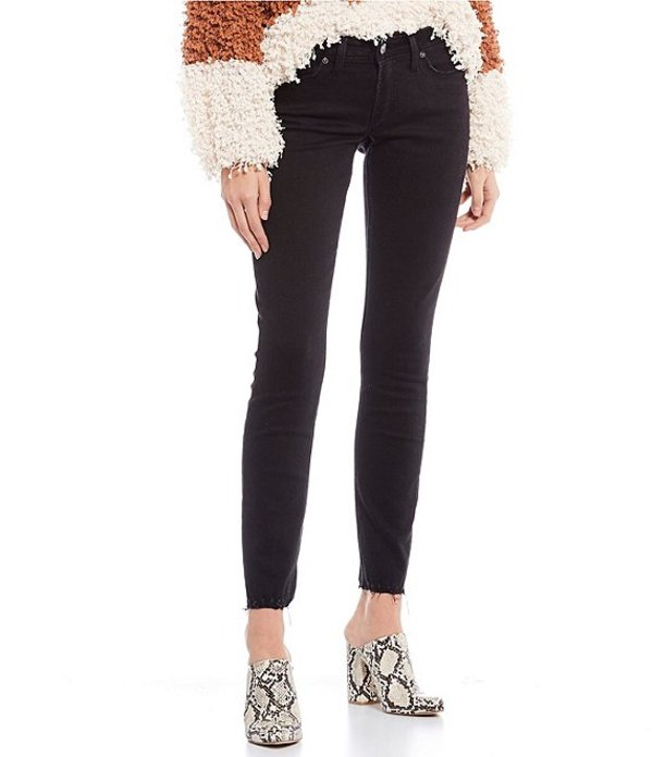 シルバー ジーンズ レディース デニムパンツ ボトムス Tuesday Skinny Jeans Black