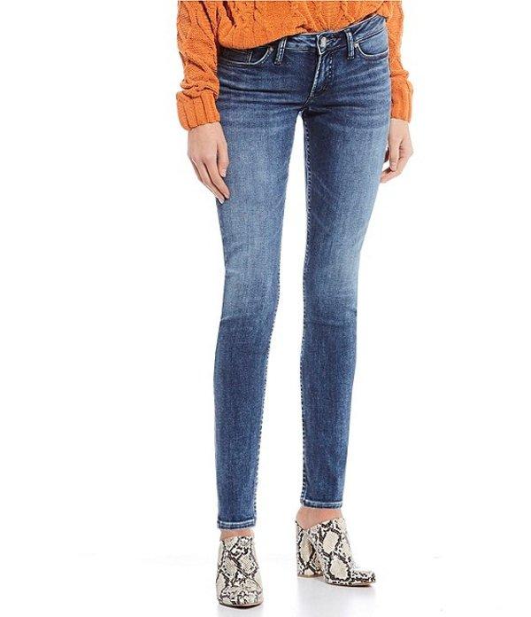 シルバー ジーンズ レディース デニムパンツ ボトムス Tuesday Skinny Jeans Indigo