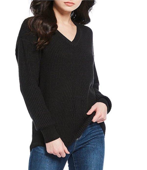 ジェシカシンプソン レディース パーカー・スウェット アウター Seana Sweater Top Black