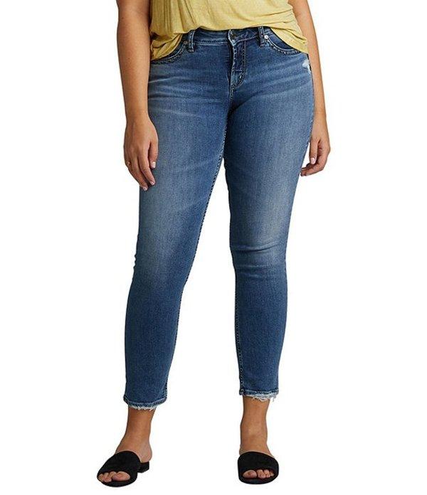 シルバー ジーンズ レディース デニムパンツ ボトムス Avery High Rise Slim Jeans Indigo