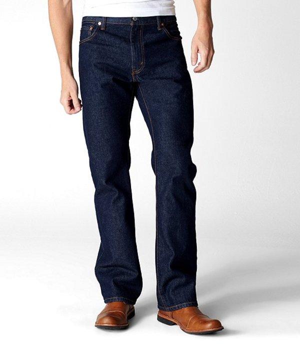 リーバイス メンズ デニムパンツ ボトムス Levi'sR 517 Bootcut Jeans Rinsed