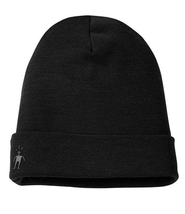 送料無料 サイズ交換無料 スマートウール メンズ アクセサリー 帽子 Black スマートウール メンズ 帽子 アクセサリー Cuffed Wool Beanie Black