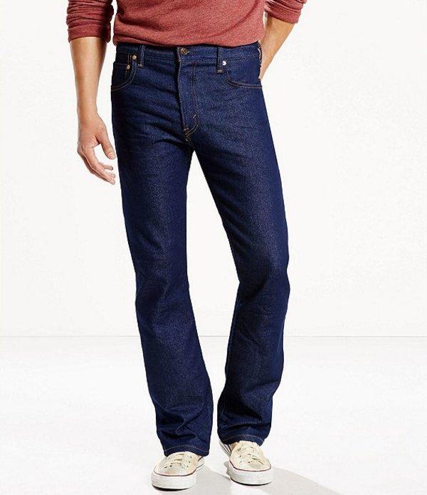 リーバイス メンズ デニムパンツ ボトムス Levi'sR 517 Stretch Bootcut Jeans ESP Indigo