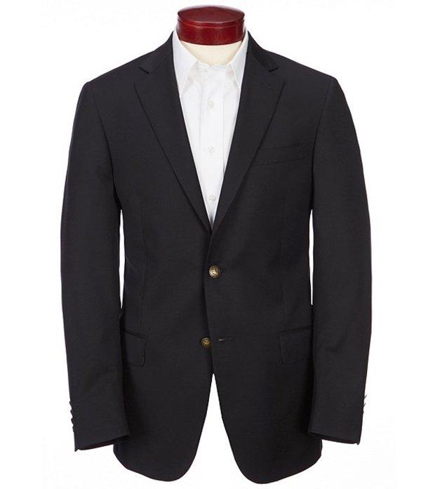 ハート シャフナー マルクス メンズ ジャケット・ブルゾン アウター Modern Fit Solid Wool Sportcoat Black