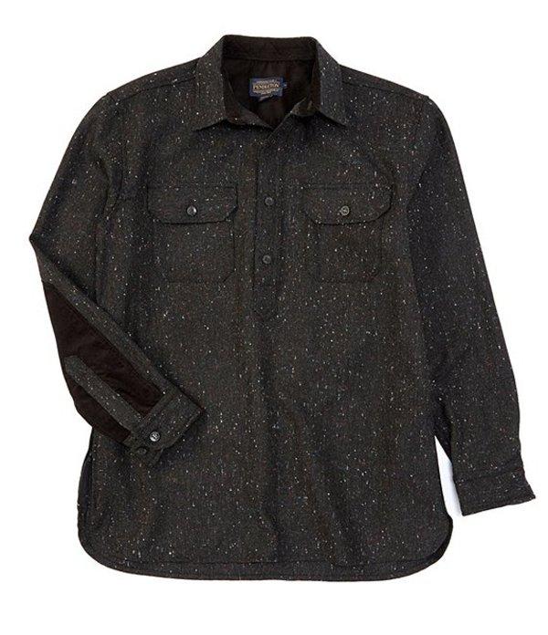 ペンドルトン メンズ シャツ トップス Donegal Pullover Shirt Black Donegal