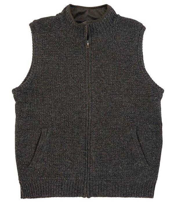ペンドルトン メンズ ベスト アウター Shetland Full-Zip Vest Black Heather