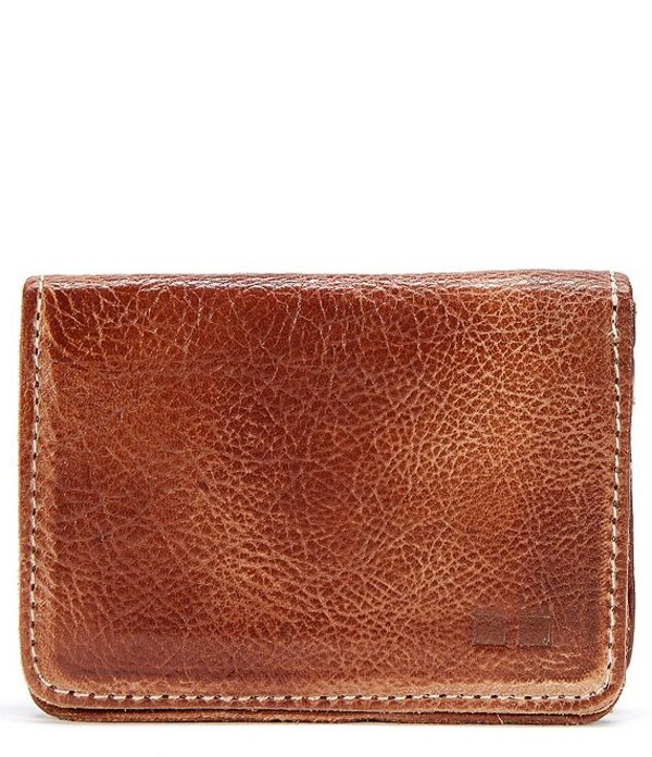 ベッドステュ メンズ 財布 アクセサリー Men's Jeor Card Holder Leather Fold Wallet Tan Rustic