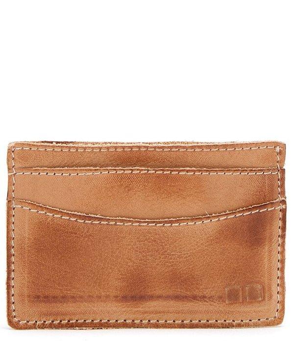 ベッドステュ メンズ 財布 アクセサリー Men's Chuck Leather Card Wallet Tan Rustic