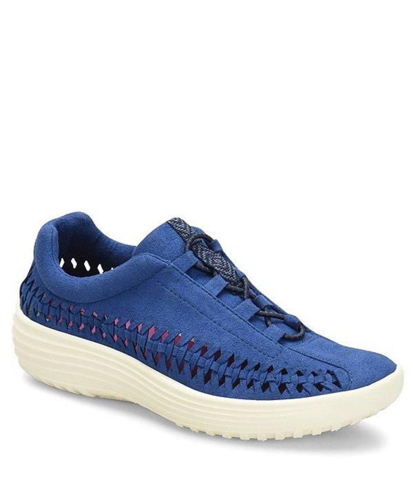 ビオニカ レディース ドレスシューズ シューズ Marea Woven Microsuede Sneakers Ink Blue