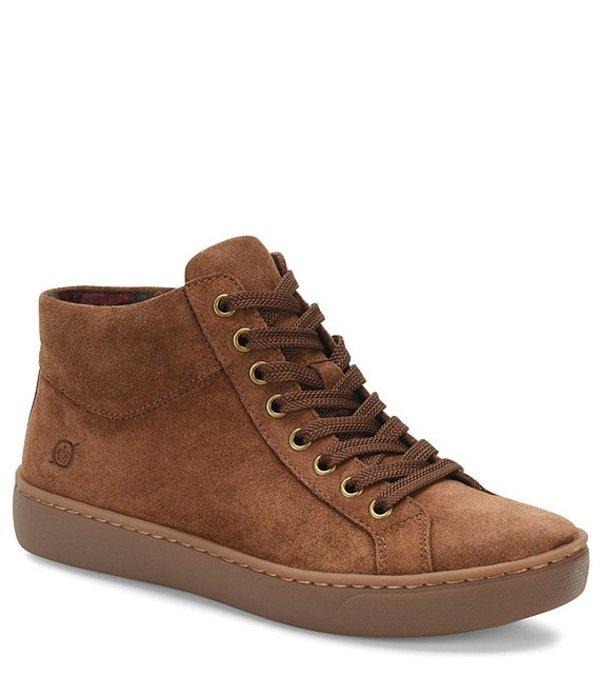 ボーン レディース ドレスシューズ シューズ Swanson Leather Lace Up Sneaker Brown
