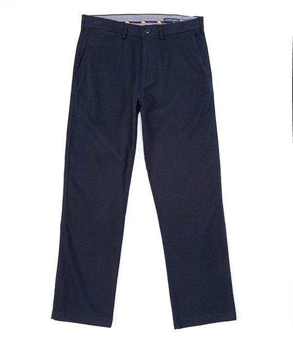 ダニエル クレミュ メンズ カジュアルパンツ ボトムス Madison Flat-Front Stretch Canvas Pants Navy