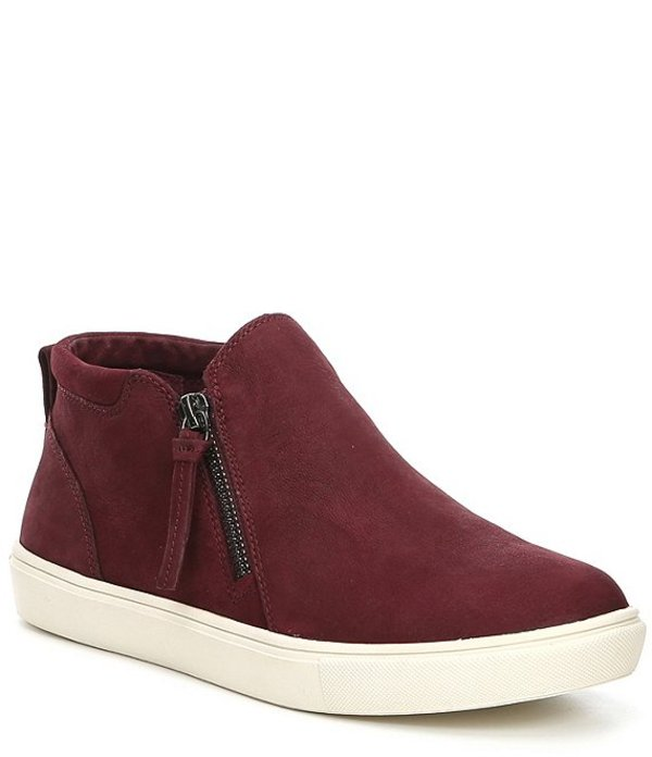ジービー レディース ドレスシューズ シューズ Ground-Break Double Zip Leather Sneakers Classic Maroon