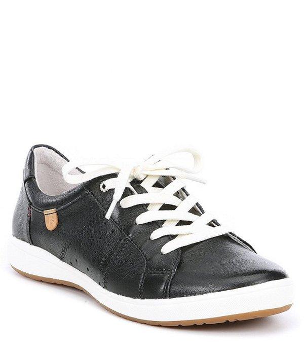 ジョセフセイベル レディース ドレスシューズ シューズ Caren 01 Leather Sneakers Black