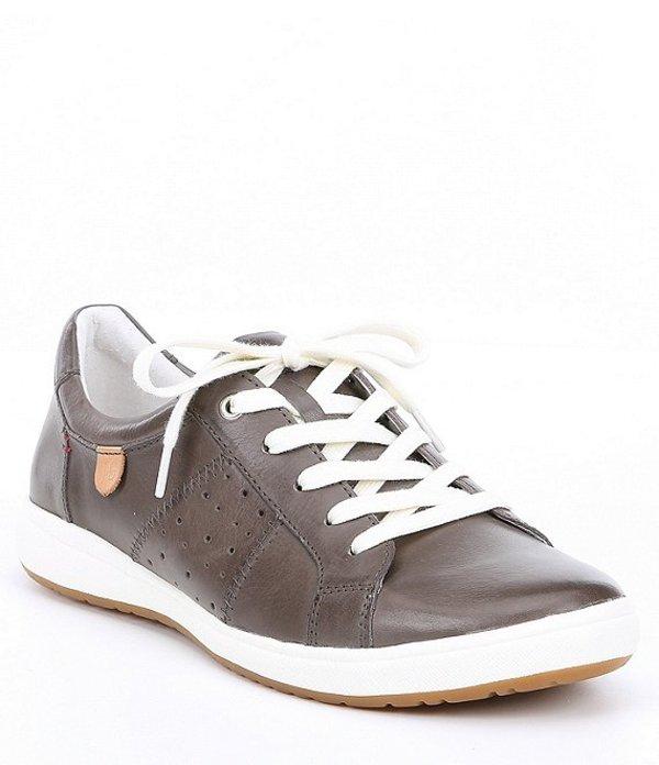 ジョセフセイベル レディース ドレスシューズ シューズ Caren 01 Leather Sneakers Grigio