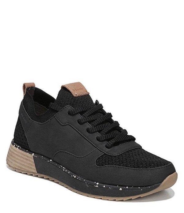 ドクターショール レディース ドレスシューズ シューズ Reed Leather Sneakers Black