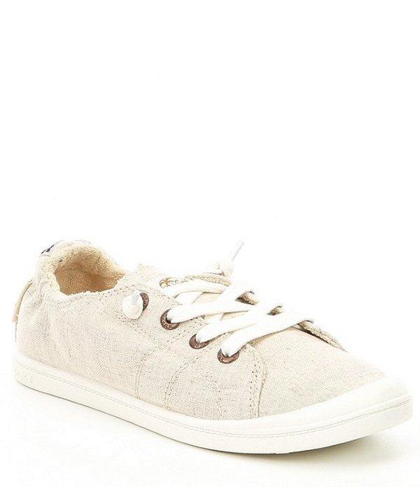 ロキシー レディース ドレスシューズ シューズ Bayshore III Canvas Slip On Sneakers Tan/Brown