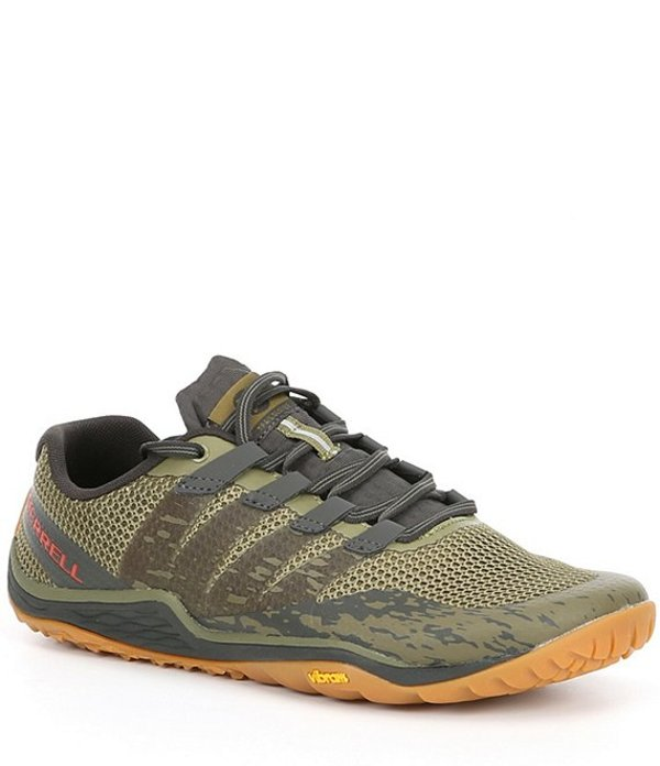 メレル メンズ スニーカー シューズ Men's Trail Glove 5 Training Shoes Olive Drab/Beluga