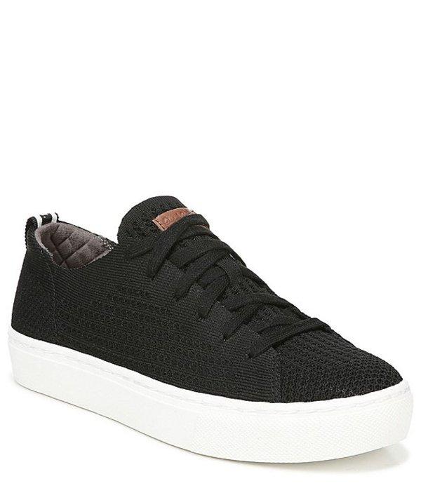 ドクターショール レディース ドレスシューズ シューズ All Day Knit Flatform Sneakers Black