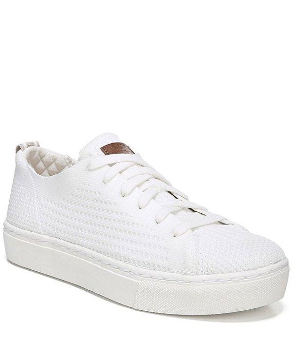 ドクターショール レディース ドレスシューズ シューズ All Day Knit Flatform Sneakers White